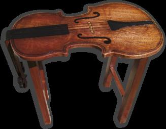 Violin Coffee Table