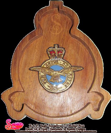 Handmade RAF Medal Box by snazzie designz