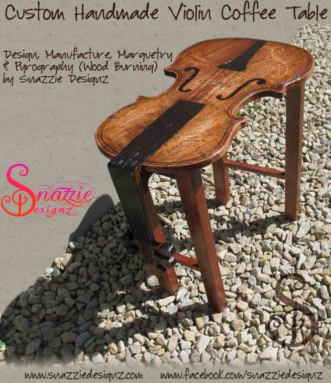 Violin Coffee Table