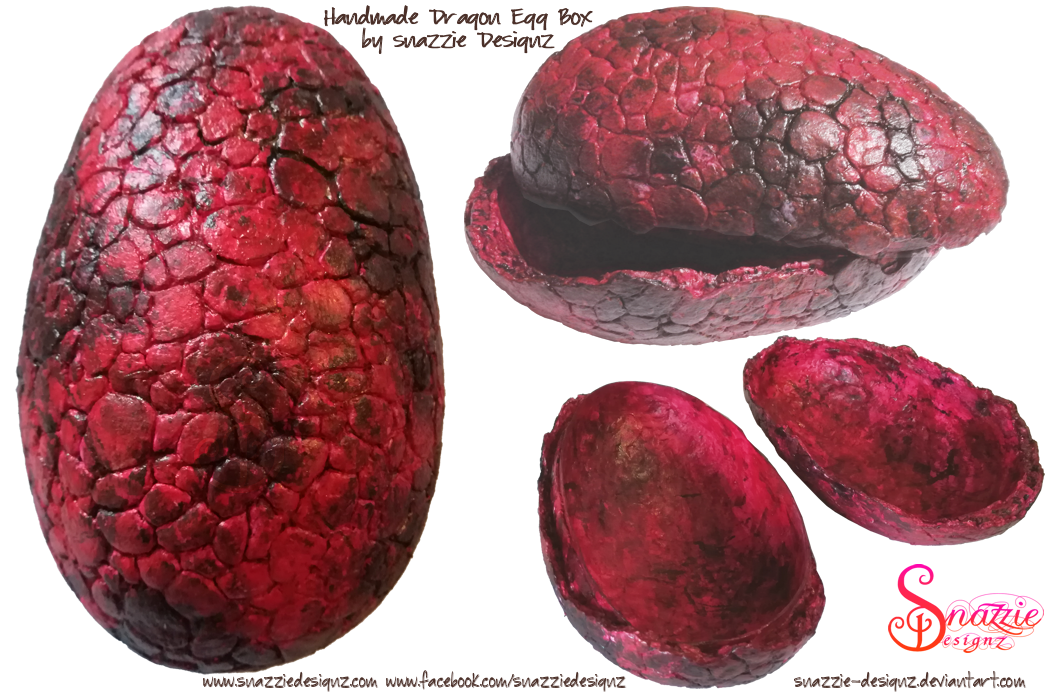 Drogon Dragon Egg Box by Snazzie Designz