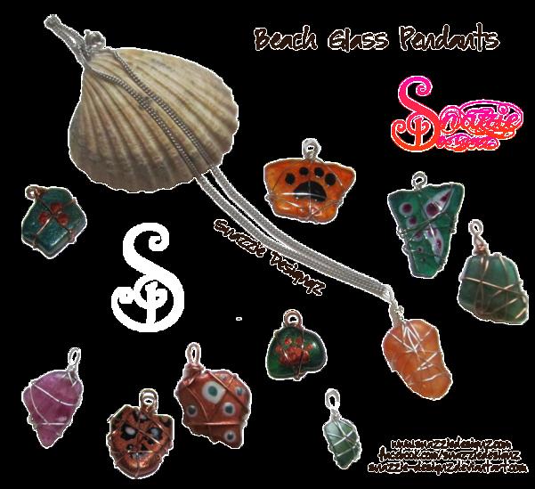 Beach Glass by snazzie designz