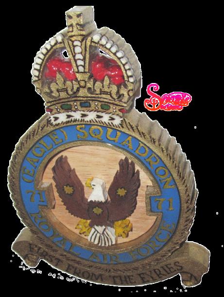 Handmade RAF Plaque by snazzie designz