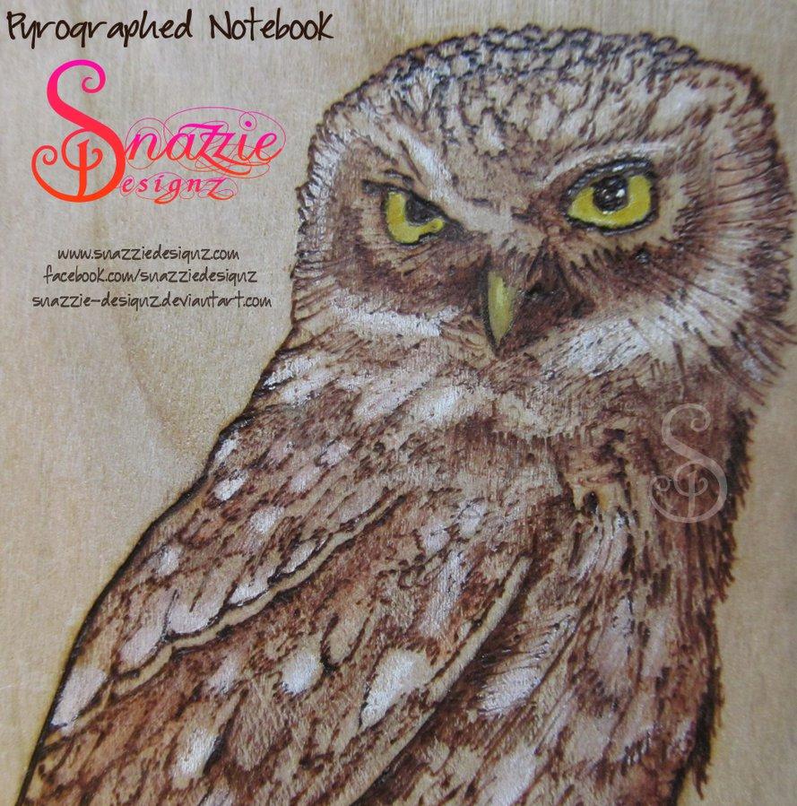 Owl Pyrograph