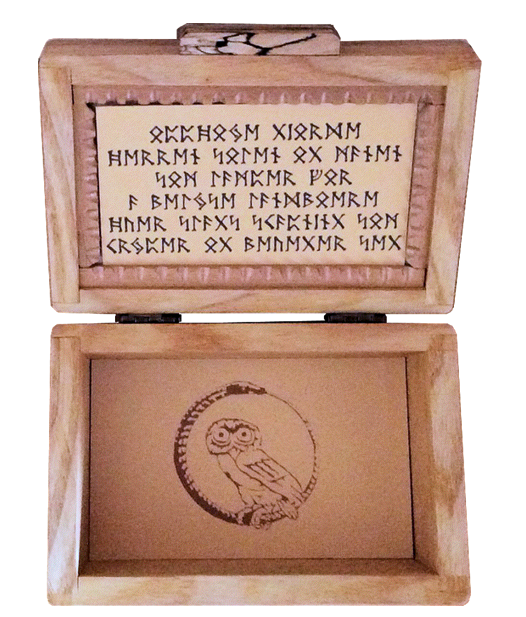 Rune Box Handmade by Aldwarke
