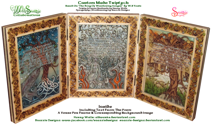 Song of Wandering Aengus Triptych