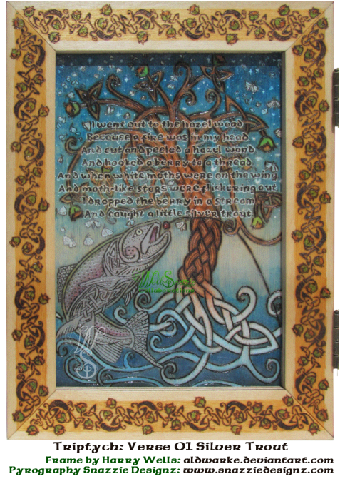 Song of Wandering Aengus Triptych Panel 1
