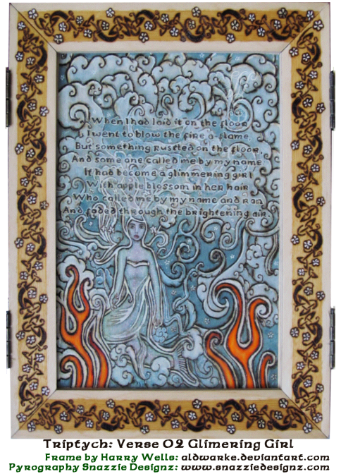 Song of Wandering Aengus Triptych Panel 2