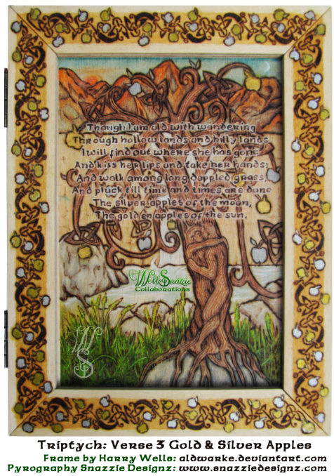 Song of Wandering Aengus Triptych Panel 3
